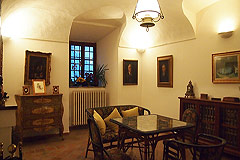 Castle for sale in the Piemonte region of Italy - One of the castle's apartments