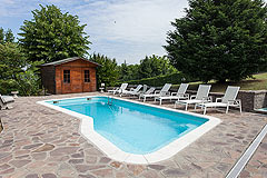 Luxus Stil - Villa im Piemont - Pool area