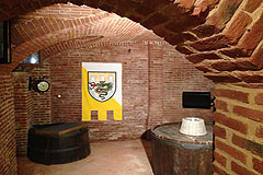 Country House in the Asti region of Piemonte. - Old exposed brick