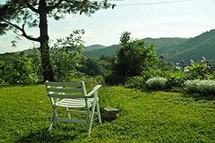 Cascina in vendita in Piemonte. - View from the garden