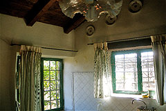 Character Stone House for sale in Piemonte - Exposed wooden ceiling