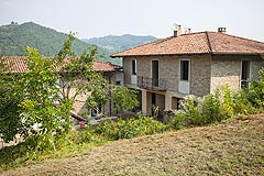 Cascina italiana in vendita nell'area UNESCO del Piemonte - View of the property for finishing