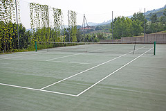 Cascina italiana in vendita nell'area UNESCO del Piemonte - Tennis court area