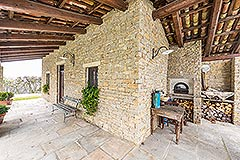 Luxury Country Home for sale in the Piemonte region of Italy - Terrrace