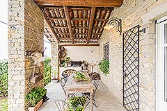 Luxury Country Home for sale in the Piemonte region of Italy - Terrace