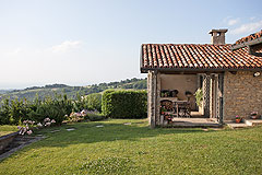 Luxury Country Home for sale in the Piemonte region of Italy - Panoramic views from the property