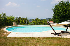 Architect designed Italian villa for sale in Piemonte - Pool