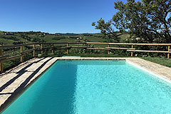 Apartment  for sale in Piemonte - Pool area