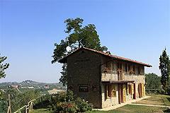Sehr schönes Landhaus & Schwimmbad mit Blick auf die Weinberge im Piemont. - The property enjoys a panoramic position