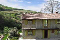 Bella cascina con piscina, vista panoramica in Piemonte. - Panoramic views