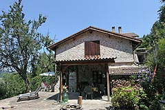 Country Cottage for sale in Piemonte - The property enjoys a tranquil position