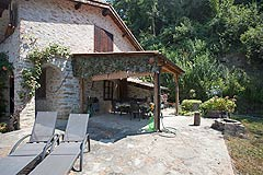 Country Cottage for sale in Piemonte - Terrace area