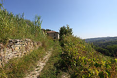 Rustic Italian farmhouse for sale in Piemonte - Private entrance to the property