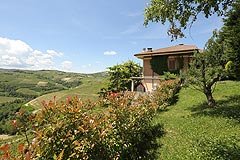 Prestigious Italian villa with Moscato vineyards  for sale in Piedmont. - Luxury Country Estate with vineyard views in the prestigious UNESCO Lange region.