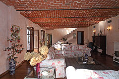 Cascina vicino ad Asti in Piemonte - Ground floor living area