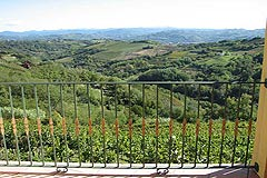 Landhaus Nähe Acqui Terme Piemont - Wonderful views from the property