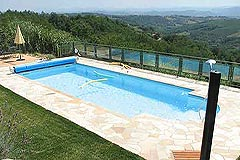 Country House close to Acqui Terme Piemonte. - Italian villa with Swimming pool with the most  stunning vineyard and mountain views.