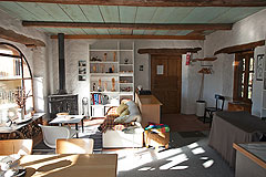 Country Houses for sale in Piemonte - Second House: Open plan kitchen-living area