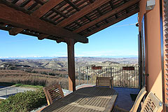 Country Home for sale in Piemonte - Terrace area