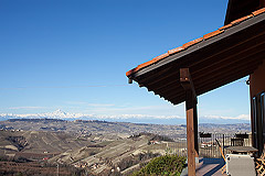 Country Home for sale in Piemonte - Views from the terrace