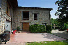 Country Stone House for sale in Piemonte - The property is a traditional L shape