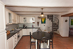 Country Stone House for sale in Piemonte - Main kitchen