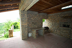 Country Stone House for sale in Piemonte - Terrace area
