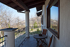 Italian villa for sale in Piemonte - Terrace