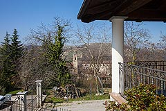 Italian villa for sale in Piemonte - Views from the terrace