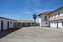 Country Estate including house, barn and outbuildings within 13 hectares of grounds. - Courtyard area