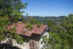 Country Home for sale in the Piemonte region of Italy - Restored Stone House in a tranquil position with mountain views. Excellent Price.