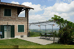Luxury Country Home for sale in the Langhe region of Piemonte - The property enjoys a panoramic position