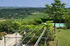 Luxury Country Home for sale in the Langhe region of Piemonte - Views from the property