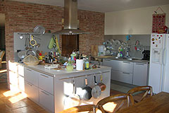 Luxury Country Home for sale in the Langhe region of Piemonte - Kitchen area