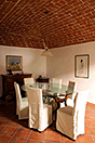 Italian farmhouse close to a golf course for sale in Piemonte - Main house - Dining room