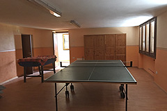 Two Country houses with swimming pool for sale in Piemonte - Games room