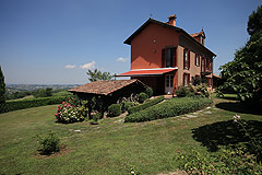 Luxury home for sale in Piemonte Italy - Panoramic position