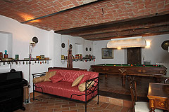 Luxury home for sale in Piemonte Italy - Lower ground floor - Living area