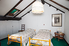 Luxury home for sale in Piemonte Italy - Attic area - Bedroom