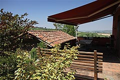 Luxury home for sale in Piemonte Italy - Terrace area