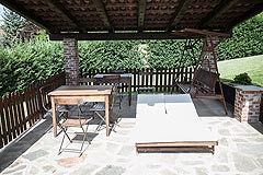 Hotel e Ristorante in vendita in Piemonte - Terrace near the pool