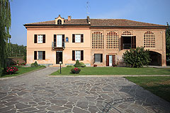 Luxury Equestrian Property for sale in Piemonte Italy - Courtyard area