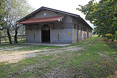 Luxury Equestrian Property for sale in Piemonte Italy - Horse stables with the Italian property