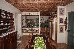 Luxury Equestrian Property for sale in Piemonte Italy - Kitchen area
