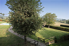 Luxury Equestrian Property for sale in Piemonte Italy - Garden areas