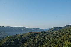 Teil restauriertes Stein Bauernhaus zum Verkauf im Piemont - Panoramic views
