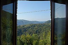 Teil restauriertes Stein Bauernhaus zum Verkauf im Piemont - Dining room views