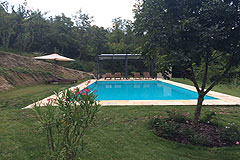 Restored Luxury Stone Country House in Piemonte - Pool area