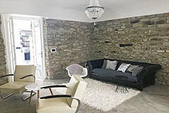 Restored Luxury Stone Country House in Piemonte - Living area