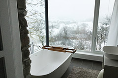 Restored Luxury Stone Country House in Piemonte - Bathroom